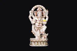 GA-4054 Lord Marble Ganesha