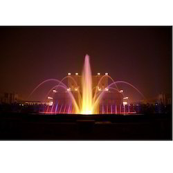 Multicolor Musical Fountains