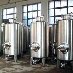 Stainless Steel Storage Silo