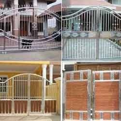 Metal Gates Stainless Steel Main Gates Manufacturer From Pune
