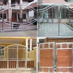 Metal Gates Stainless Steel Main Gates Manufacturer From Pune