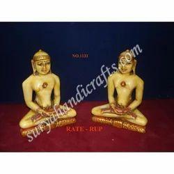 Resin Painting Buddha Sitting