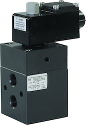 3 Way External Pilot Operated Solenoid Valve