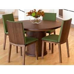 Expandable Round Dining Table | Intro Furniture | Manufacturer in ...