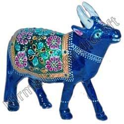 Handicraft Metal Cow Statues