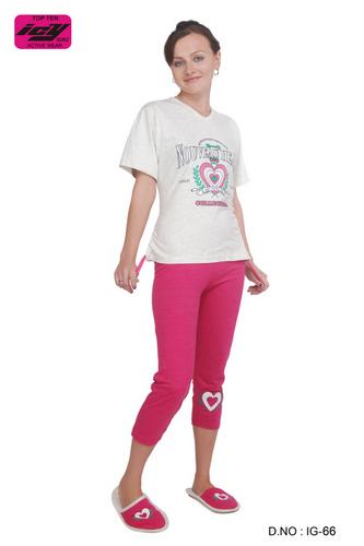 Cotton White   Pink Printed Pyjama 6be8ccec7