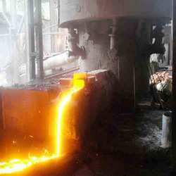 Cast Iron - Metal Pouring in Process
