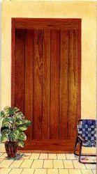 Wood Door | Tambaram Sanatoruim, Chennai | Mayuram
