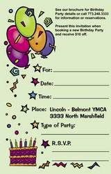 Birthday Invitation Card Greeting Invitation Cards