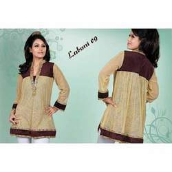 Simple Patch Work Kurti