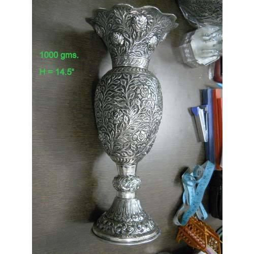 German Silver Flower Vase At Rs 2 Gram Silver Flower Vases Id