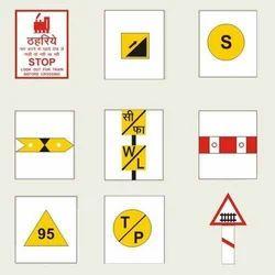 Railway Signs Board