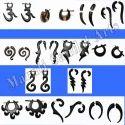 Ebony Wood Earring