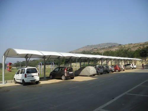 Dome PVC Car Parking Canopy Shade & Dome PVC Car Parking Canopy Shade Sprech Tenso Structures Private ...