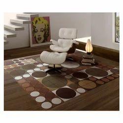Rectangular Modern Printed Carpet