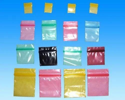 Colored Mini Ziplock Bags