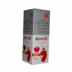 Lycopene, Vitamin B1, B2, B6, B12 Syrup, Packaging Size: 200 mL, Packaging Type: Bottle