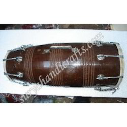 Wooden Dholak With Bolt