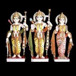 Exquisite Lord Rama with Sitaji