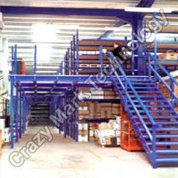 Mezzanine Floor and Two Tire Racking System