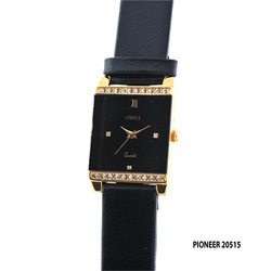 Ladies Leather Band Watch
