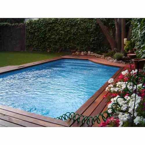 Swimming Pool Decking Wood At Rs 420 Square Feet Delhi Id 2660352348