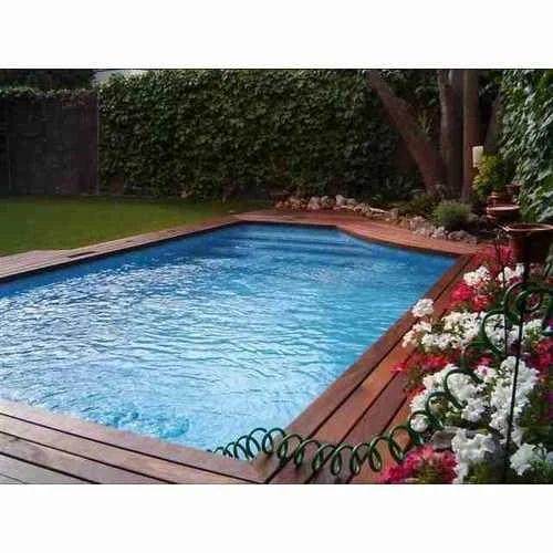 Swimming Pool Decking Wood At Rs 420 Square Feet Delhi Id 2660352348