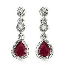 Ruby Earring