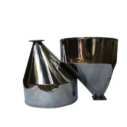 Industrial Fabrication - Round & Out center Feeding Hoppers for Chemical Industry