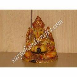 Marble Ganesh Sitting
