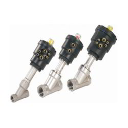 Double Acting Angle Seat Valve
