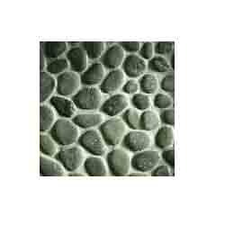 Grey River Flat Pebbles Mosaic