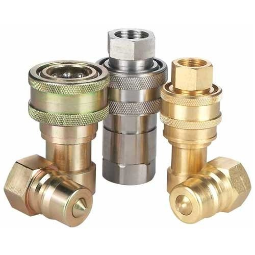 Hydraulic Quick Release Couplings, Size: 0.5-3 inch, for Central lubrication system