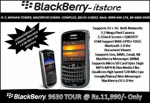 Blackberry 9630 Tour Smartphone - BB IT Store, Delhi | ID