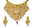 Indian Gold Necklace Set
