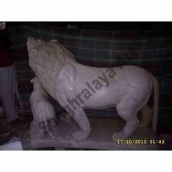 Loving Lion Statue