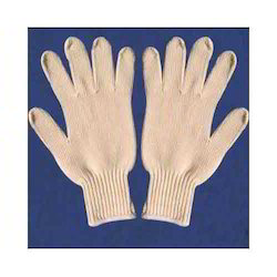 棉针织手套