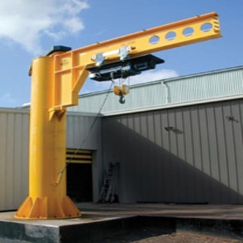 Jib Cranes Pillar Mounted Jib Crane Manufacturer From Thane