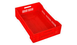 Red Fruit Crates