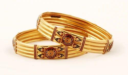 Designer Gold Bangles Gold & Gold Jewellery