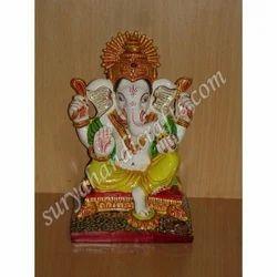 Meena Painting Sitting Ganesh Ji
