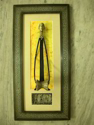 Brass Wooden Artwork Frame