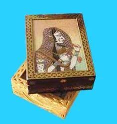 Gemstone Painting Jewellery Box Wooden Handicrafts