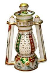 Hand Carved Marble Lantern