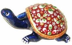 Metal Meenakari Tortoise