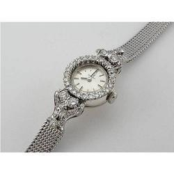 White Gold Watch