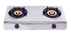 Gas Stove 2 Burner Stell