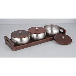 Savvy Tray Set Of 3 Pcs  1