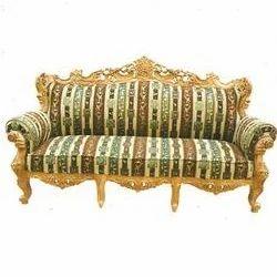 Marvelous Wooden Carved Sofa