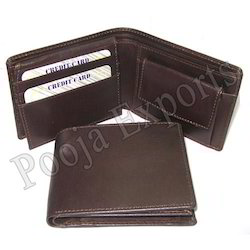Leather Mens Travel Wallet